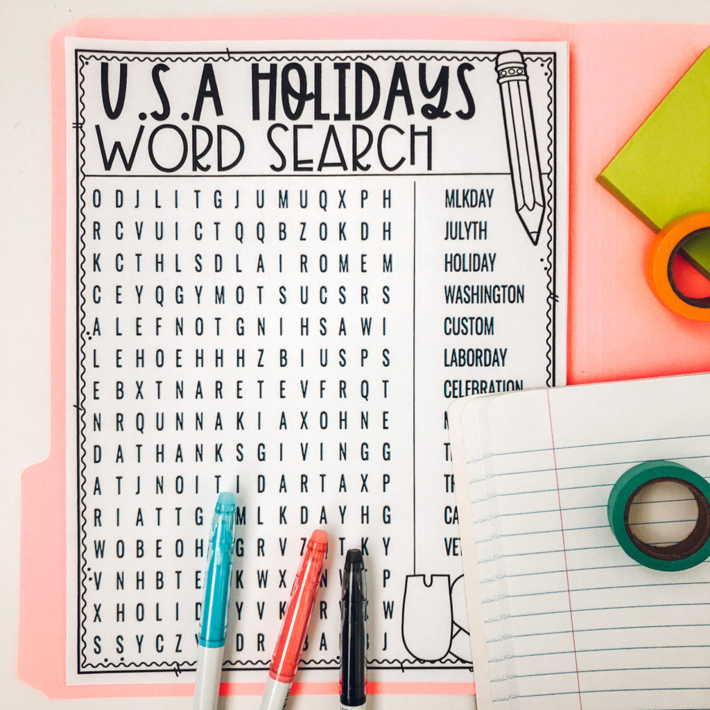 hight resolution of Fun Ways to teach USA Holidays and Celebrations to Kids   %