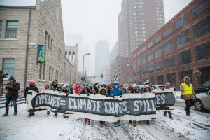 Minneapolis march to Defund ETP