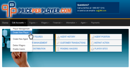 How to Create a Betting Account for your players