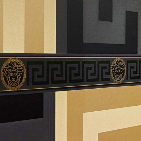 ACR036 - Versace Greek Wallpaper Border