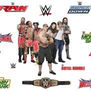 WWE077 - WWE Superstars Wallpaper