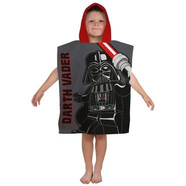 LEG142 - Lego Star Wars Villains Hooded Poncho Towel