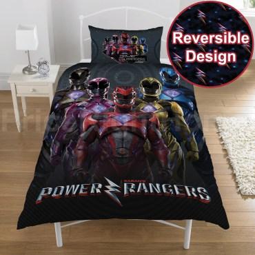 POW109 - Power Rangers Single Duvet Cover Set