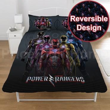 POW110 - Power Rangers Double Duvet Cover Set
