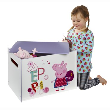 PPP206 -Peppa Pig Tidy Up Time Toy Box