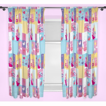 PPP253 - Peppa Pig Nautical Curtains