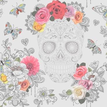 RAS133-Sugar-Skulls-Wallpaper-Grey-EA