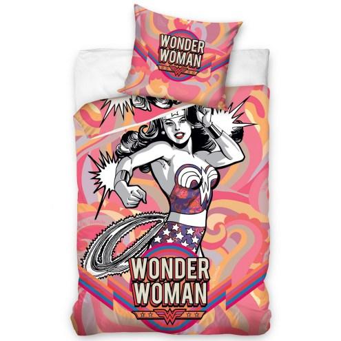 WDW002 - Wonder Woman Cotton Single Duvet Cover Set