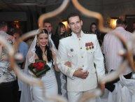 Amina i Rasim na svom venčanju