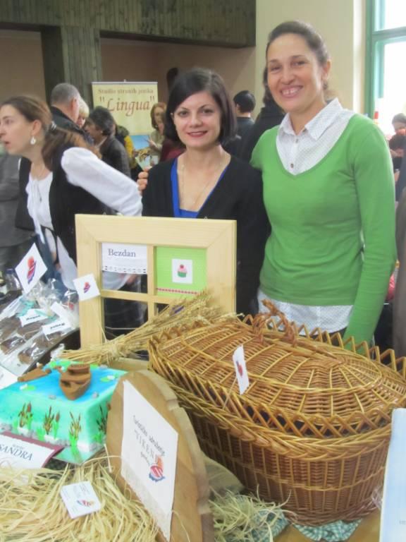 Biljana sa Blaženkom, koleginicom iz Udruženja Vikend.
