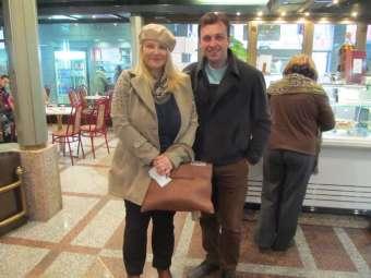 Naš susret između dva putovanja na stanici u Beogradu