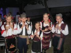 Mali frulaši učili su zanat od Petra Lazića: Marija, Radovan, Sanja, Snežana i Dušan