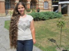 Milena iz Jagodine, pre nego što je isplela kiku