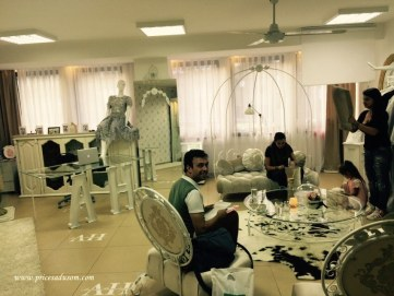 Mene je slikao Rasim u ateljeu u kojem nastaju haljine...