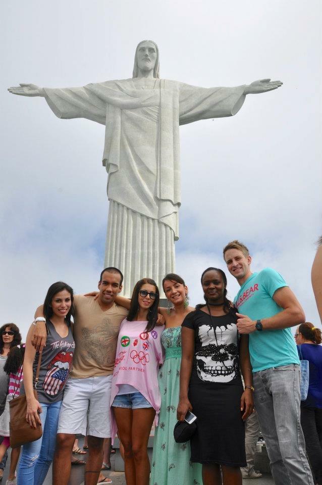 Sa kolegama u Rio de Zaneiru