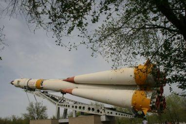 Rakete kao spomenici u Kazahstanu