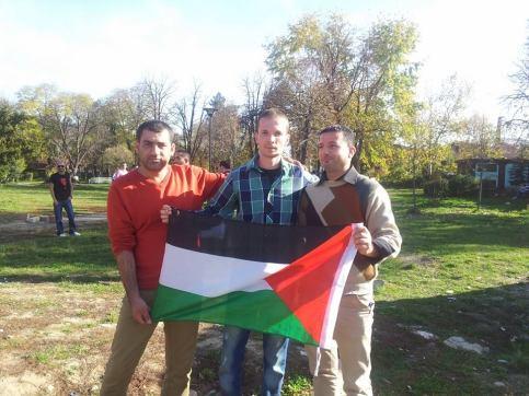 U gradskom parku sa turistima iz Palestine