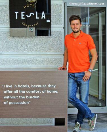 Mihajlo Cakic hotel Tesla