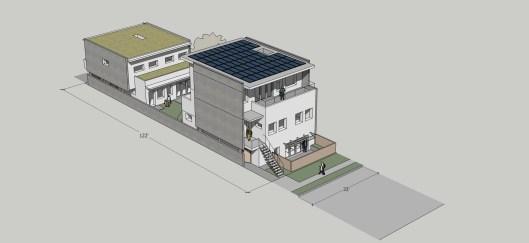 33x122 rowhouse 4 plex - single lot
