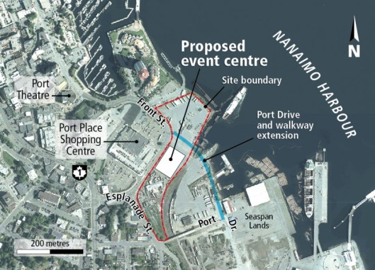 nanaimo-event-centre-map