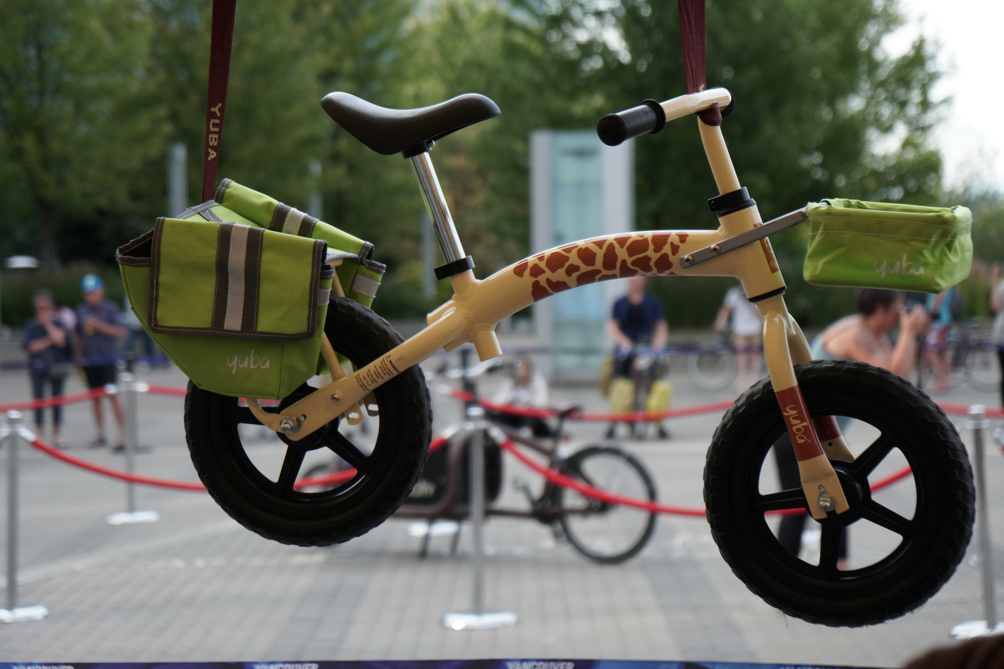 The smallest cargo bike