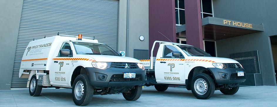 service vehicles of price trandos engineering