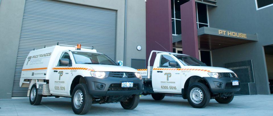 price trandos service vehicles