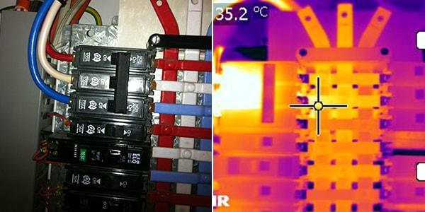 normal camera vs thermographic camera 5