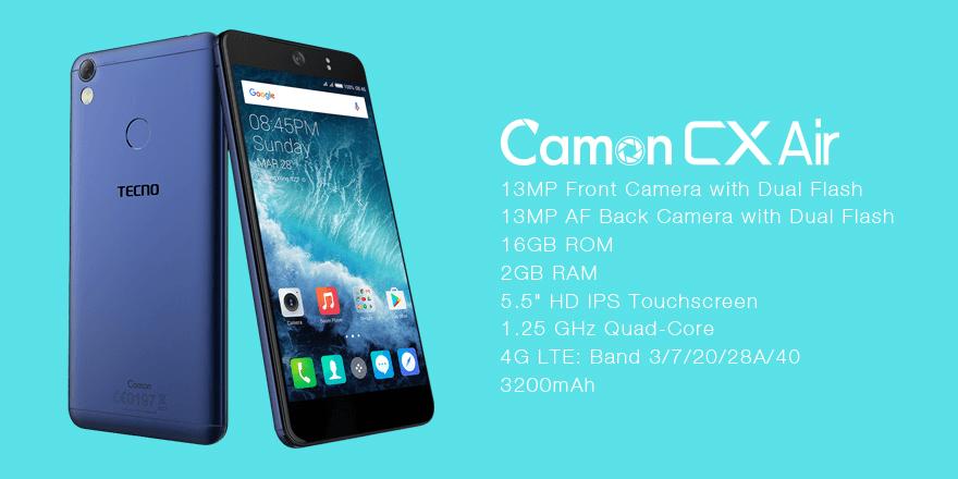 Tecno Camon CX Air
