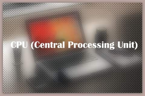 About CPU (Central Processing Unit)