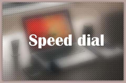 About Speed dial