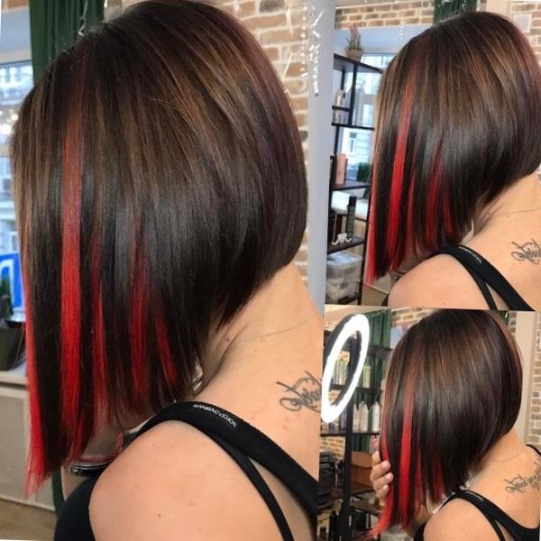 নতুন Hairstyle Buzova.