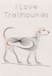 Trailhound pattern at Stitching Cards