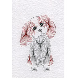 Spaniel pattern added at Stitching Cards