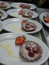 Raspberry & Cheese Tart