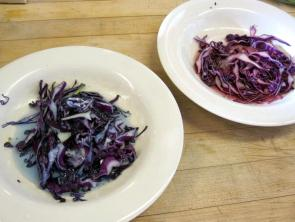 Red Cabbage, Blue Cabbage