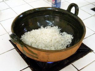 Toasting the Rice