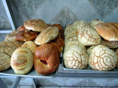 Conchas and other bread