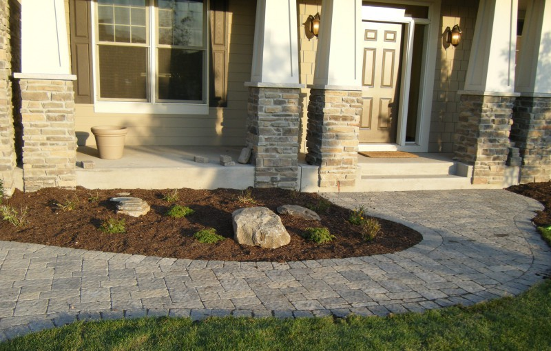 Driveway Patio and Walkway Landscaping in Annandale Minnesota and surrounding areas