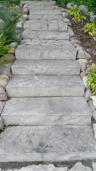 Steps Landscaping In St Michael Greenwood Monticello