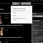 Bianca's Showroom Login
