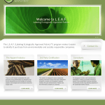 Leaf Certified Homepage