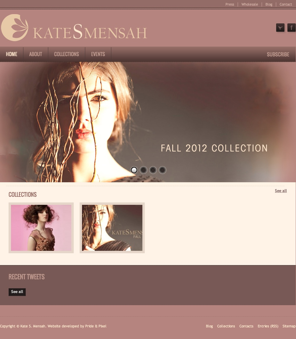 Kate S Mensah Homepage