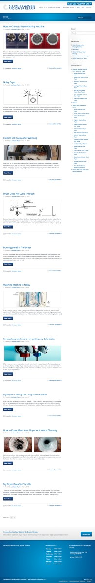 All Valley Washer Dryer Repair Blog