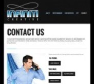 Infiniti Creative Contact Page