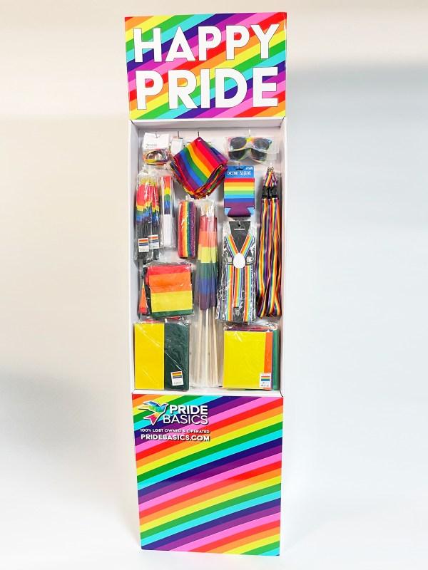Pride Month Retail Shipper 2021 Pride Merchandise