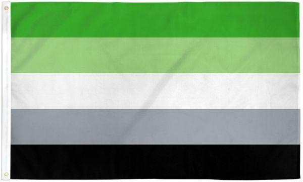 Aromantic Pride Flag