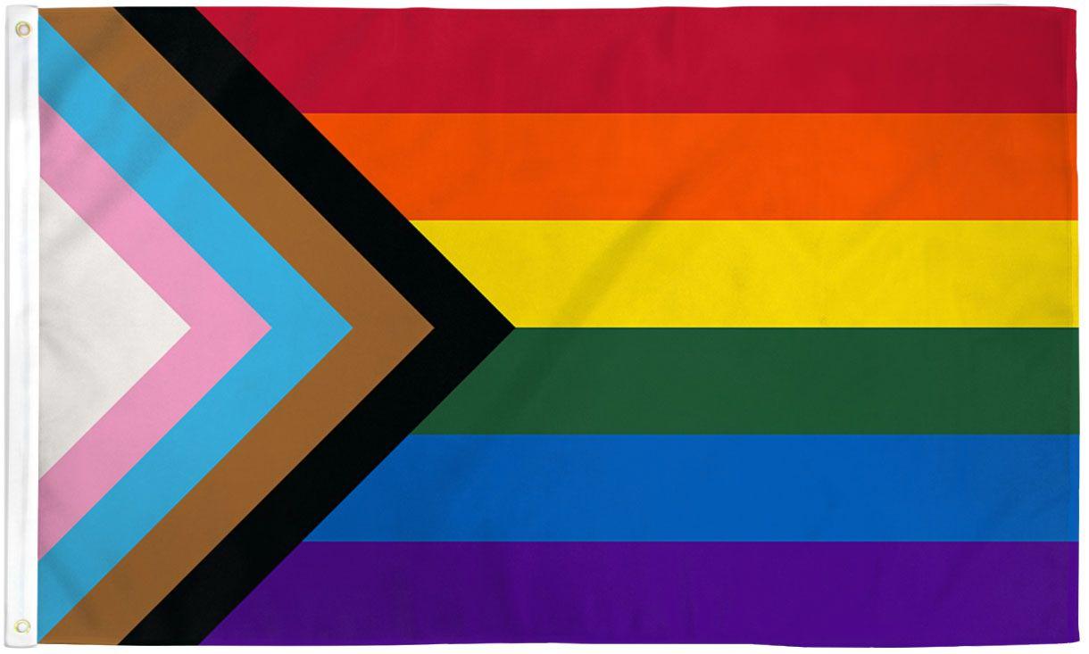 Inclusive Progress Pride Flag