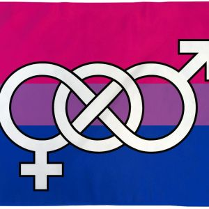 Bisexual Symbol Flag