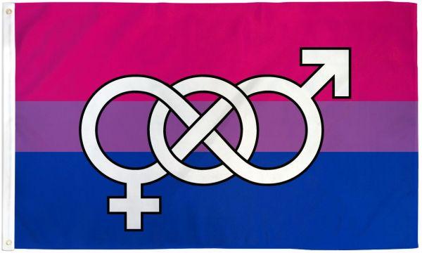Bisexual Symbol Flag